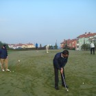 Trening na putting greenu